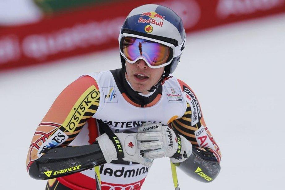 Erik Guay... (Photo Leonhard Foeger, AP)