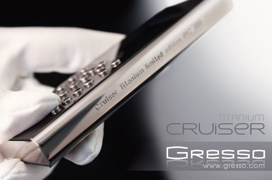 Le fabricant de téléphones de luxe présente le Cruiser Titanium, un nouveau...