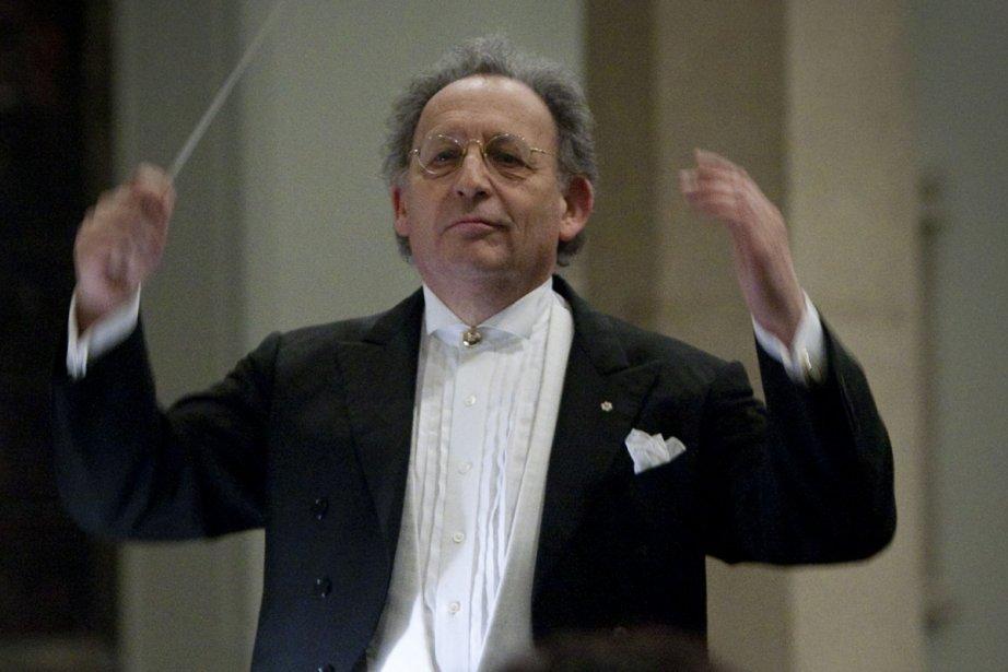 Boris Brott... (Photo:  archives La Presse)
