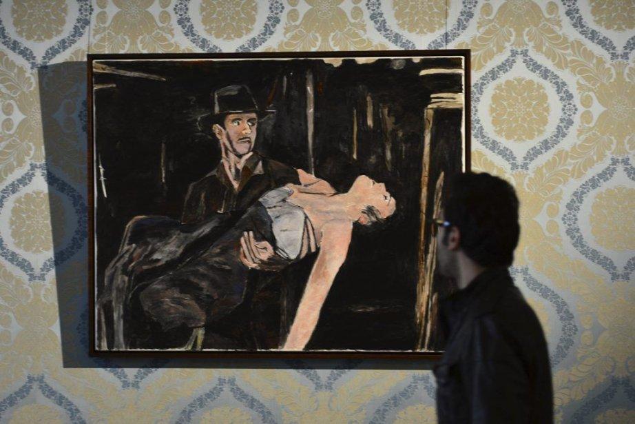 Bob Dylan Expose Ses Peintures A Milan La Presse