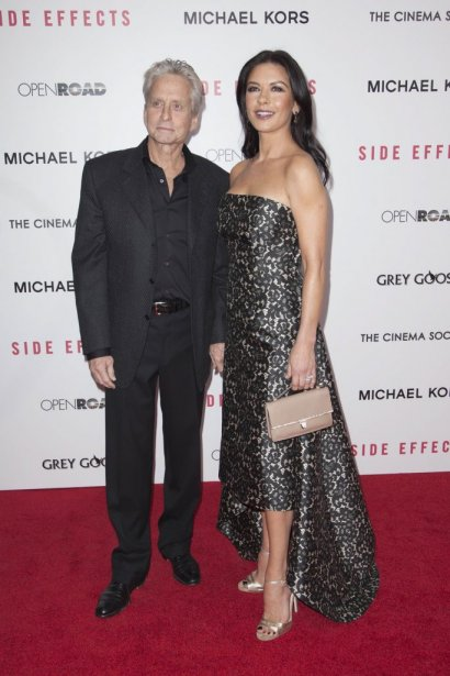 Le couple Michael Douglas et Catherine Zeta-Jones | 6 février 2013