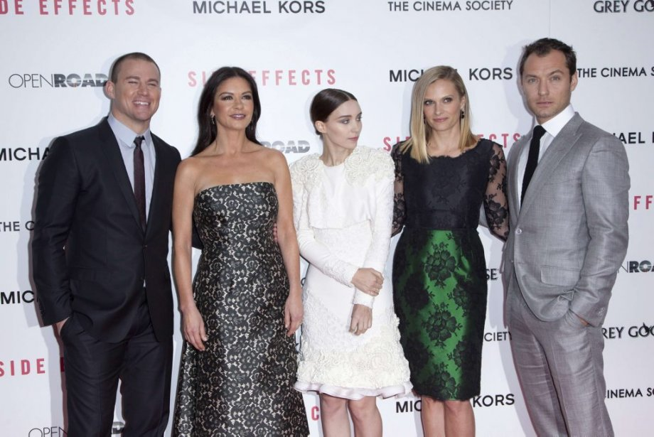 Channing Tatum, Catherine Zeta-Jones, Rooney Mara, Vinessa Shaw et Jude Law | 6 février 2013