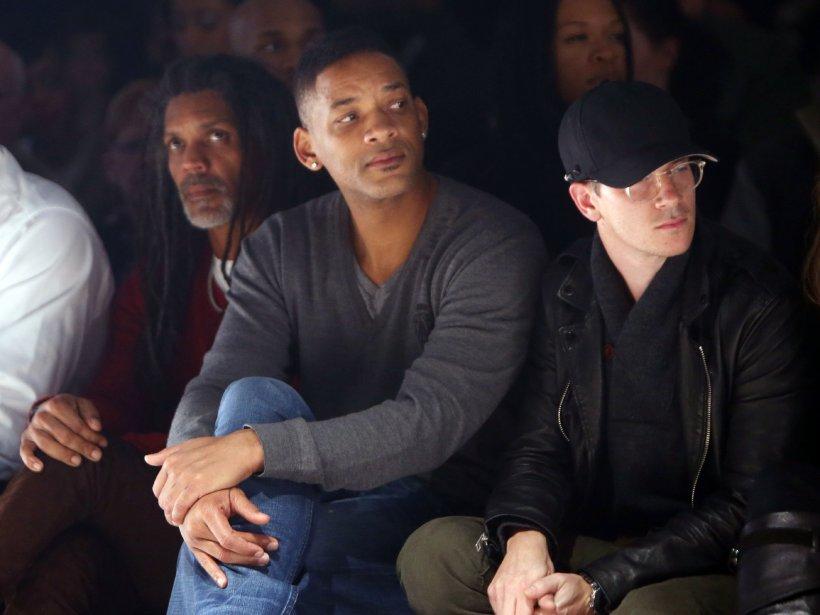 L'acteur américain Will Smith a assisté au défilé de Ralph Leroy lors de la Semaine Mode Montréal. | 6 février 2013