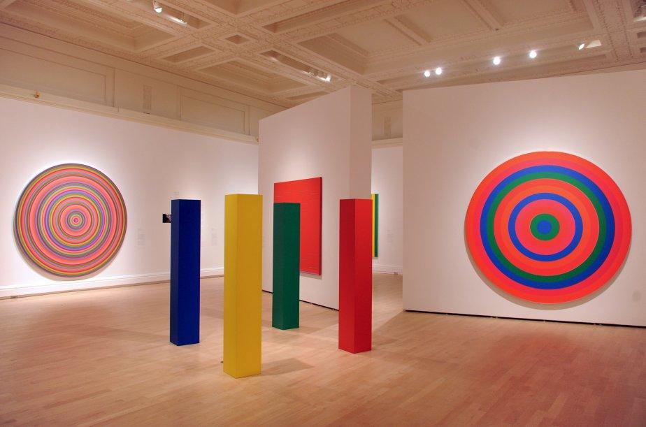 Le Musée des beaux-arts du Québec a présenté aux médias, le 6 février, l'exposition «Les Plasticiens et les années 1950-1960», consacrée aux enjeux du mouvement plasticien, tels qu'ils se sont manifestés à Montréal entre 1955 et 1970. Plus de 70 oeuvres seront exposées jusqu'au 12 mai. | 6 février 2013