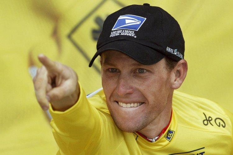 Lance Armstrong au Tour de France en 2003.... (Photo : archives AFP)