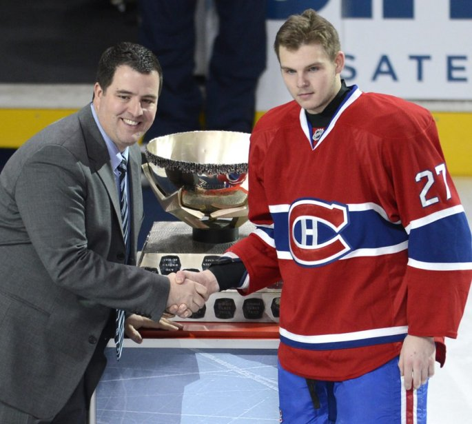 Alex Galchenyuk a remporté la Coupe Molson du mois de janvier. | 6 février 2013