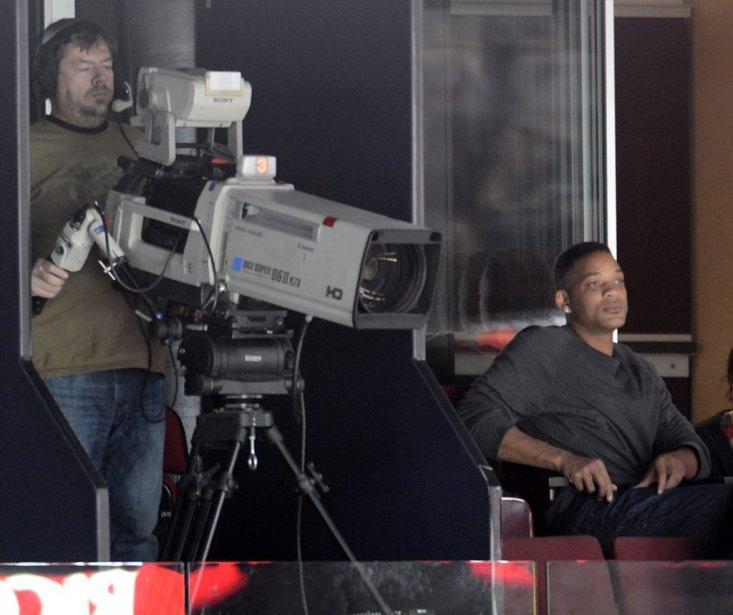 L'acteur Will Smith était de passage au Centre Bell. | 6 février 2013