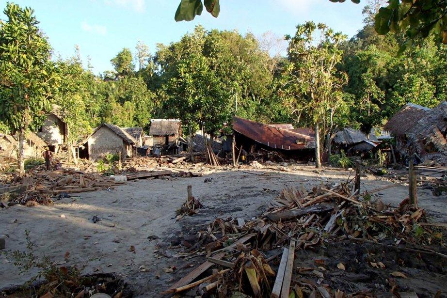 Plusieurs villages des îles Salomon ont été gravement... (Photo: AFP)