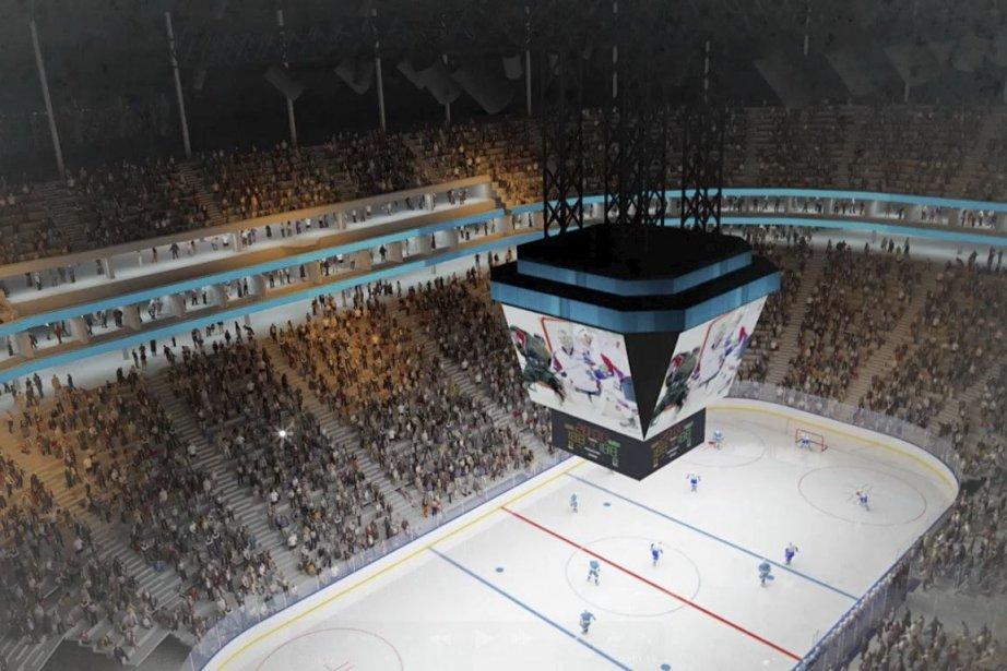 Le nouvel amphithéâtre de Québec estun projet de... (Image fournie par Équipe Intégrée SAGP/Le Soleil)