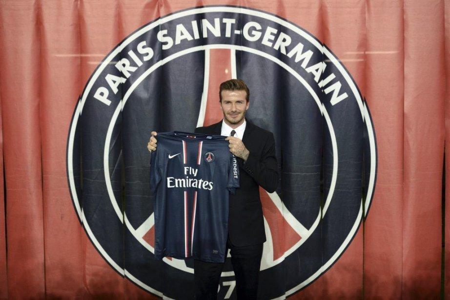 Beckham s'est entraîné à Londres cette semaine et... (PHOTO FRANCK FIFE, AFP)