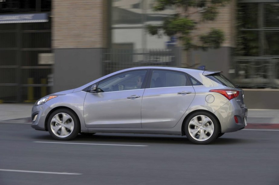 La Hyundai Elantra GT. (Photo fournie par Hyundai)