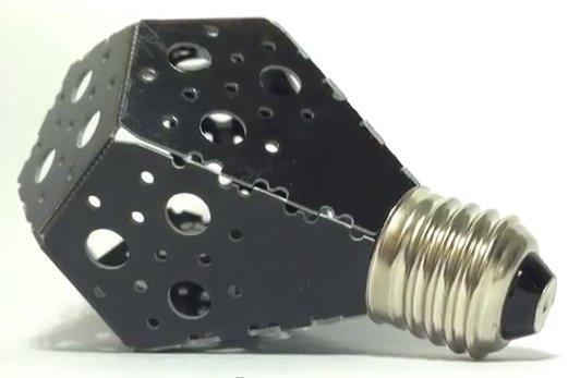 La «Nanolight» est en fait un circuit imprimé parsemé de diodes...