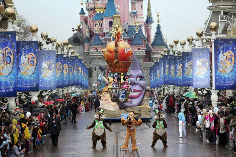 Disneyland Paris propose à ses visiteurs de profiter... (Photo: AFP)