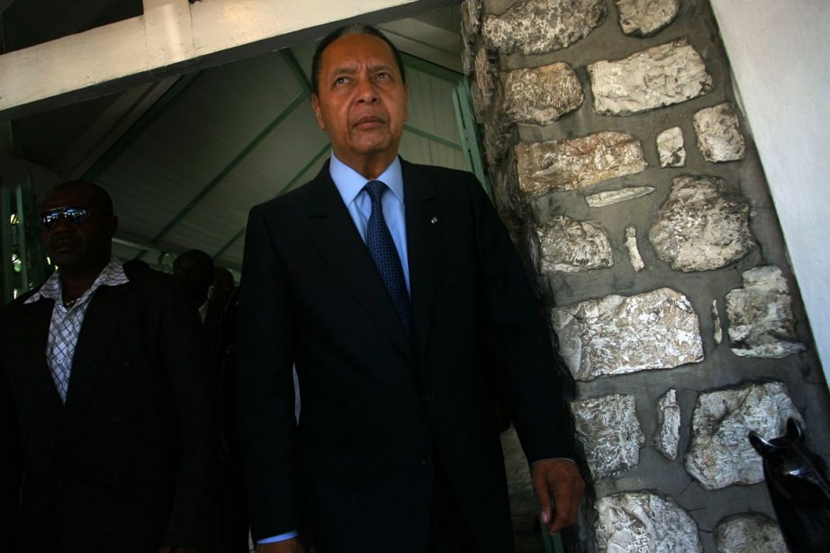 Jean-Claude Duvalier... (Photo: Hector Retamal, Archives AFP)