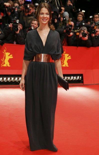 L'actrice allemande Jessica Schwarz | 7 février 2013