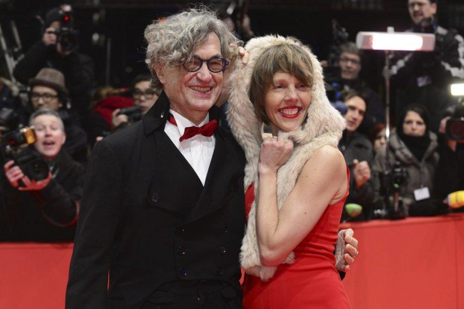 Le réalisateur Wim Wenders et sa femme Donata | 7 février 2013