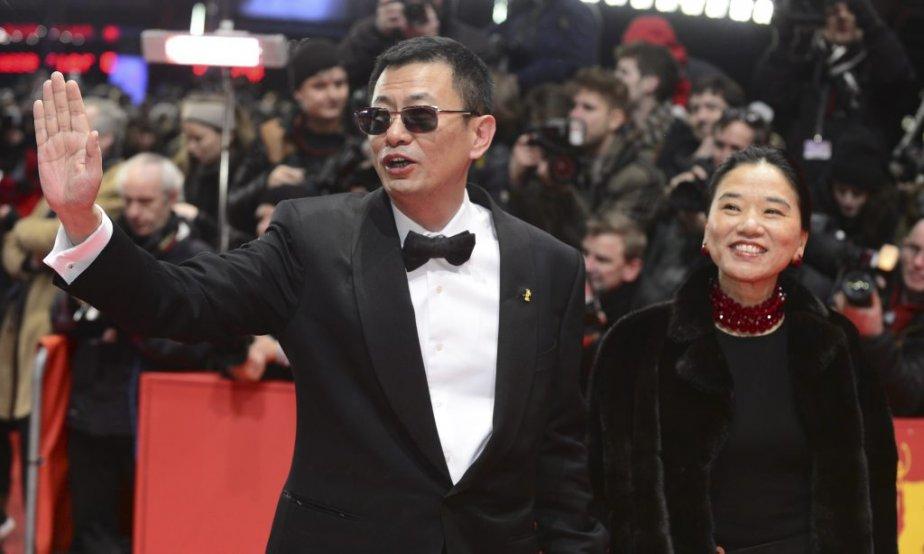 Le réalisateur Wong Kar-Wai, président du jury, et sa femme Esther | 7 février 2013