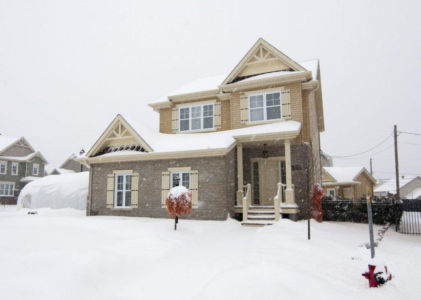 Nouvelle tendance? Les propriétaires de cette maison ont personnalisé le... | 2013-02-07 00:00:00.000