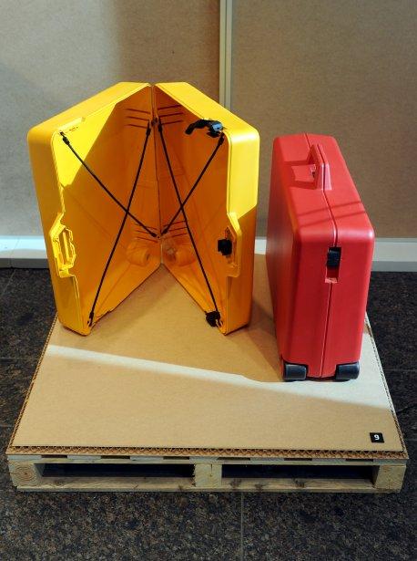 Ces ingénieuses valises ont été conçues pour les voyageurs, les sportifs et les représentants. | 8 février 2013