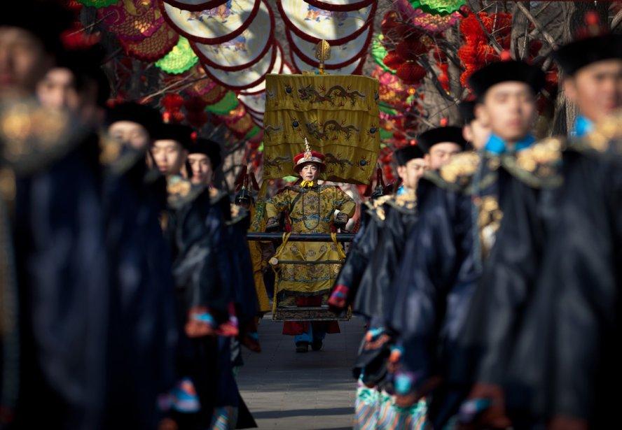 Cérémonie du Nouvel An lunaire au parc Ditan de Pékin. | 8 février 2013
