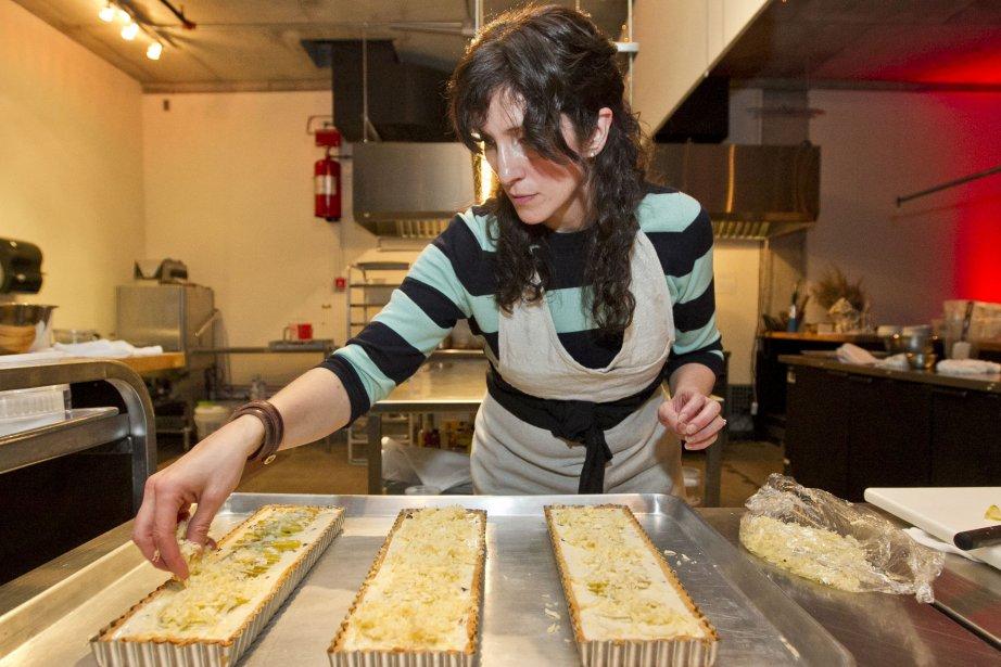 La blogueuse culinaire Aran Goyoaga était de passage... (PHOTO HUGO-SÉBASTIEN AUBERT, LA PRESSE)