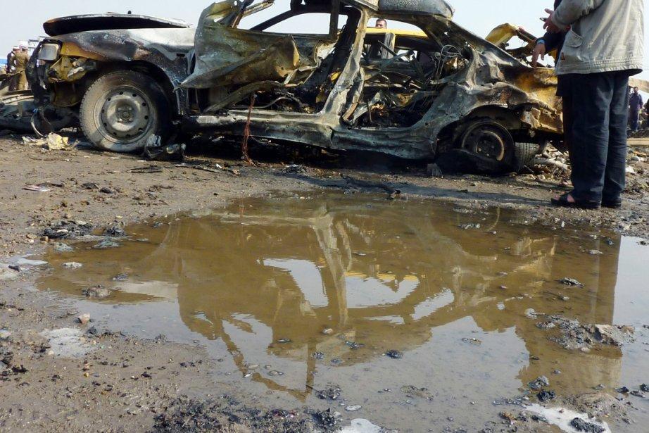 À Kazimiya, un quartier du nord de Bagdad... (PHOTO ALI AL-SAADI, AFP)