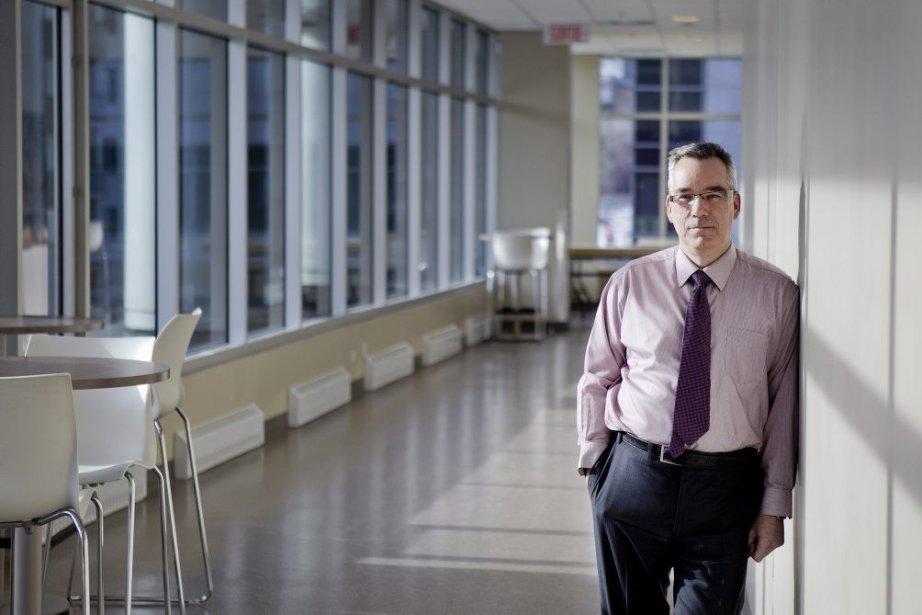 Yves Beauchamp, directeur général de l'Institut de technologie... (PHOTO MARCO CAMPANOZZI, LA PRESSE)