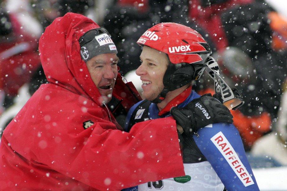 Martin Rufener (à gauche) lorsqu'il était entraîneur de... (Photo : Dominic Ebenbichler, archives Reuters)