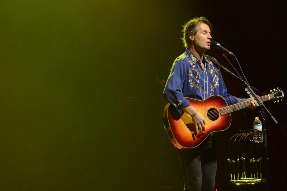 Le chanteur de Blue Rodeo, Jim Cuddy... (Photo: Bernard Brault, La Presse)