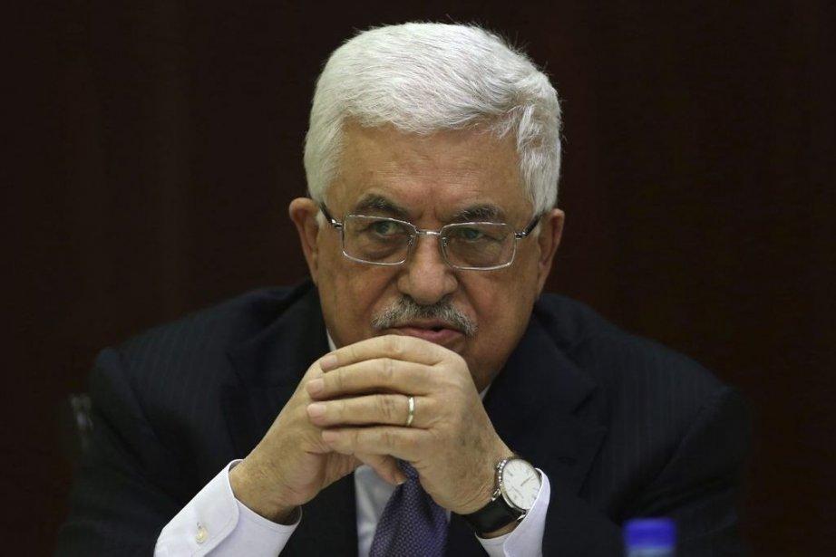 Leprésident Mahmoud Abbas.... (PHOTO MOHAMAD TOROKMAN, REUTERS)