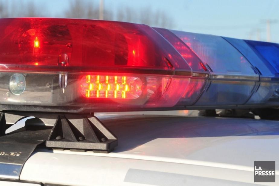 Un suspect a été arrêté lundi après avoir tenté de... (Photo archives La Presse)