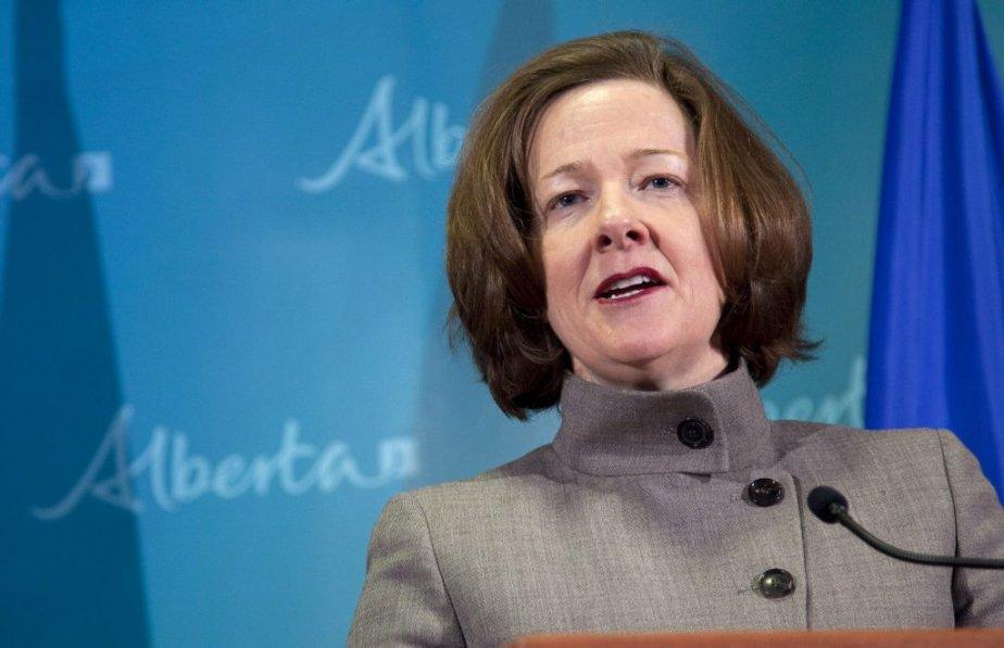 Le gouvernement conservateur d'Alison Redford est complètement coincé,... (Photo La Presse Canadienne)