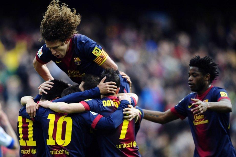 Le Barça dispose désormais de 12 points d'avance... (Photo : Manu Fernandez, AP)