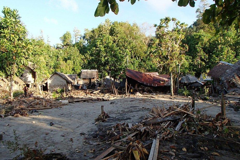 Le séisme a endommagé les habitations de ce... (Photo: AP)
