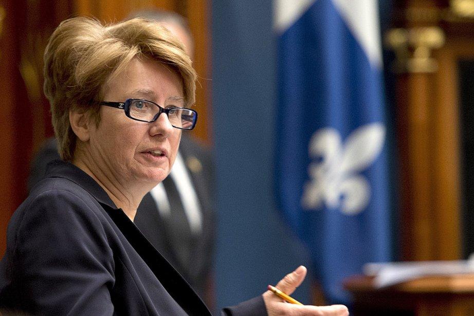 La ministre de l'Emploi Agnès Maltais.... (Photo: PC)