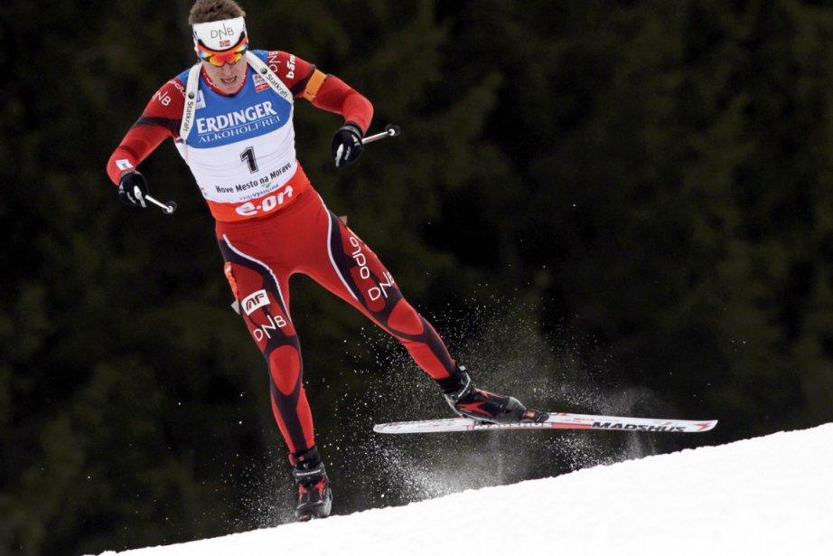 Il s'agissait pour Emil Hegle Svendsen de sa... (Photo : David W Cerny, Reuters)