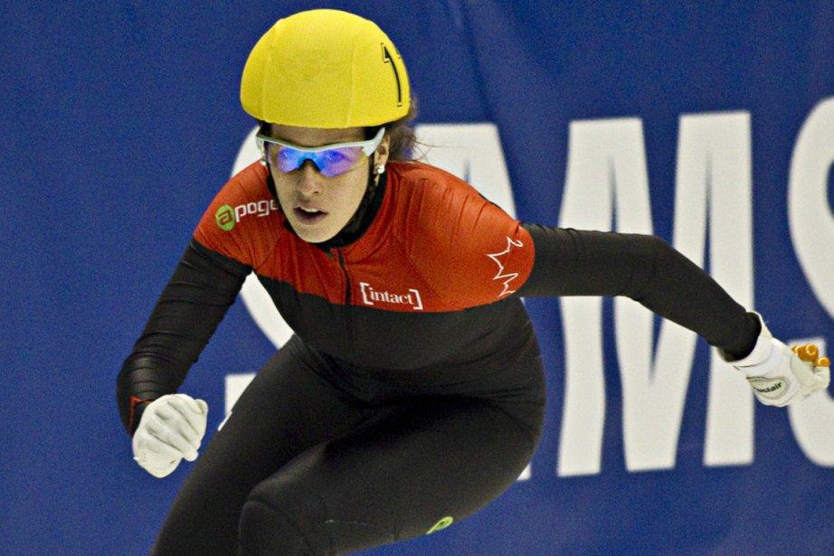Marianne St-Gelais a connu beaucoup de succès dimanche... (Photo : Alain Décarie, archives)