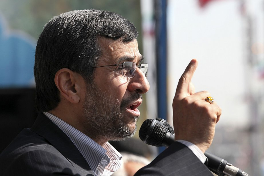 Le président iranien Mahmoud Ahmadinejad.... (Photo: AP)