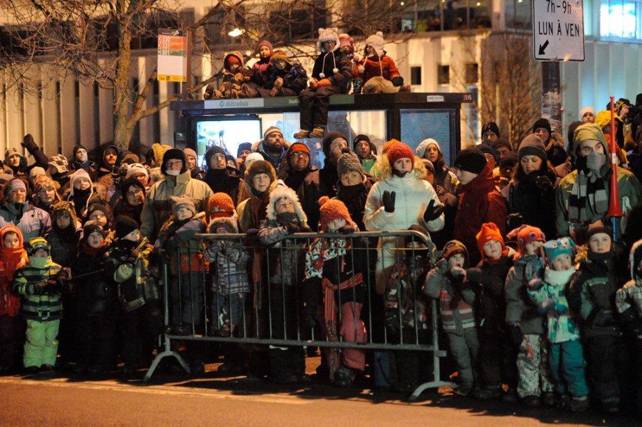 Le premier défilé de nuit, celui de la Basse-Ville, le 9 février | 10 février 2013