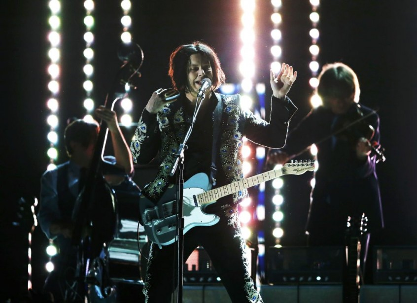 Jack White en action (Photo Reuters)