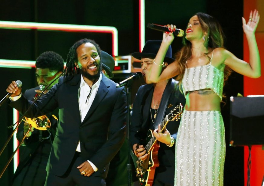 Ziggy Marley et Rihanna (Photo Reuters)