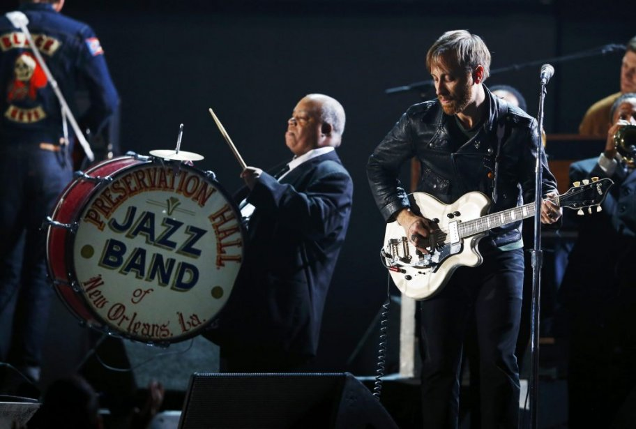 Dan Auerbach et les Black Keys (Photo Reuters)