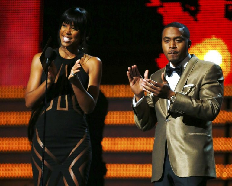 Kelly Rowland et Nas (Photo Reuters)