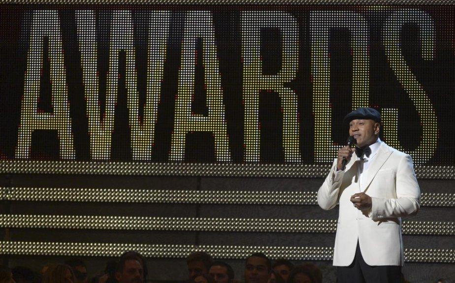 LL Cool J durant l'ouverture de la soirée (Photo AFP)