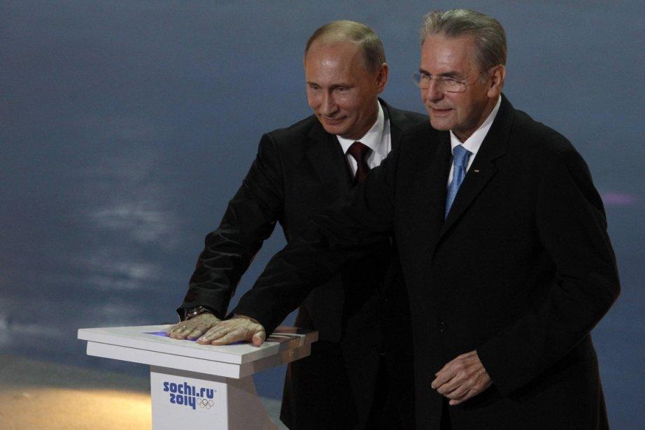 Le président du Comité international olympique, Jacques Rogge... (Photo Sergei Karpukhin, reuters)