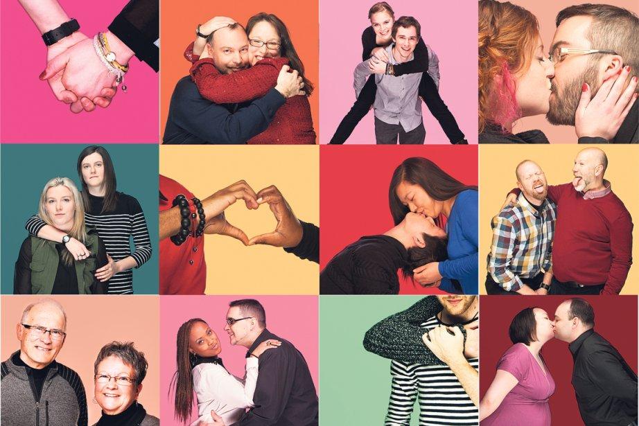 L'amour est le seul moteur de... (Photos: Anne Gauthier, collaboration spéciale)
