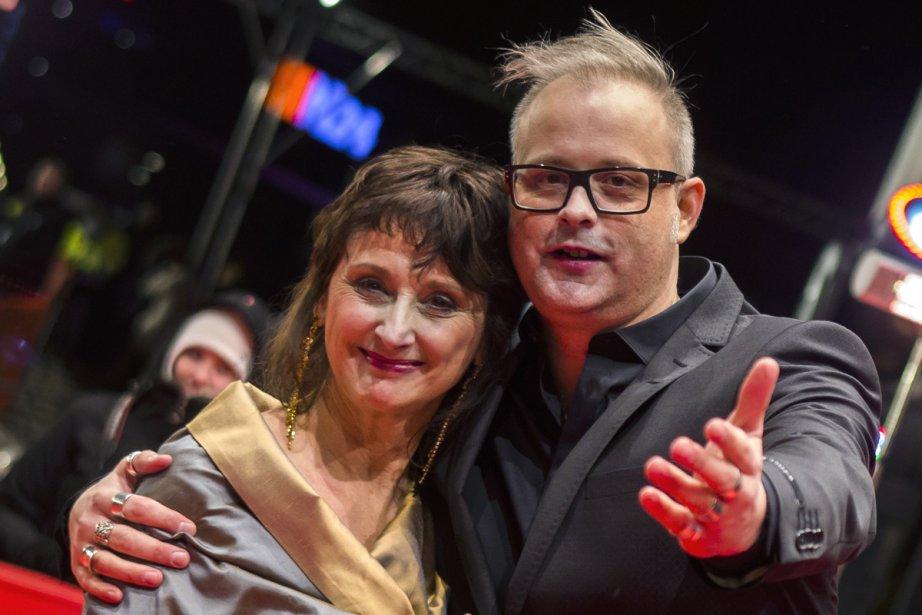 Le Québécois Denis Côté et son actrice Pierrette... (Photo: Reuters)