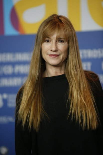 Holly Hunter est venue présenter le film Top Of The Lake. | 11 février 2013