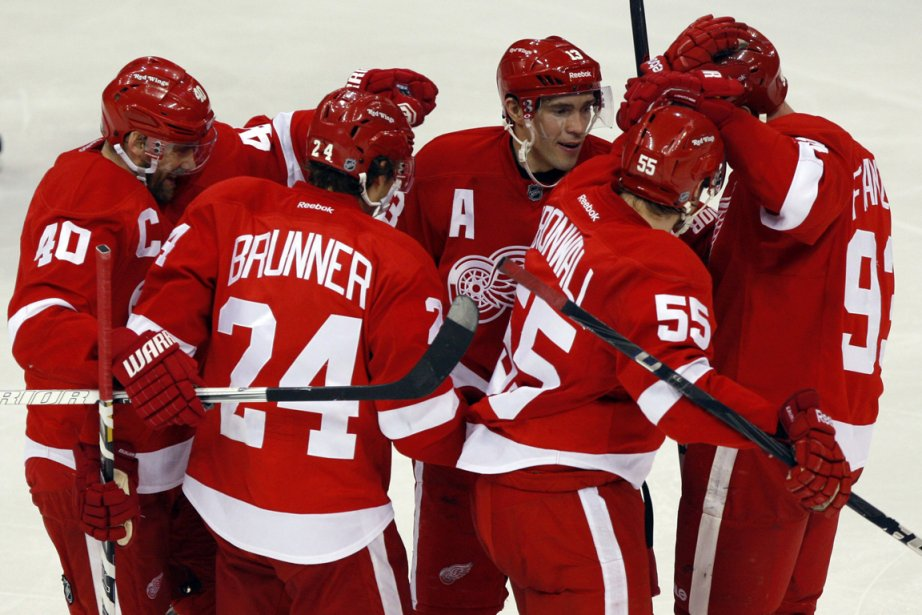 Les Red Wings de Detroit feront partie de... (Photo Rebecca Cook, Reuters)