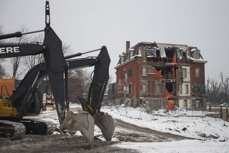Le centre Raymond-Préfontaine, premier hôpital communautaire de Montréal,... (Photo: Ivanoh Demers, La Presse)